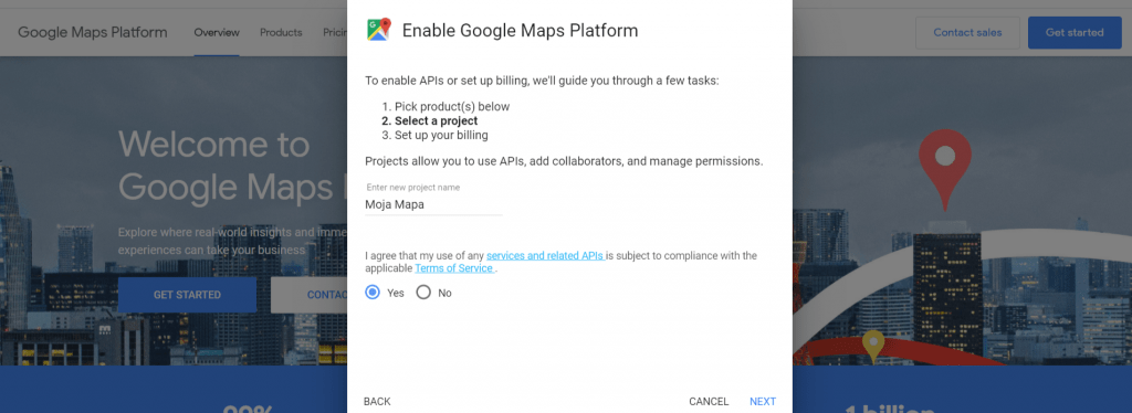 Api Google Maps 2