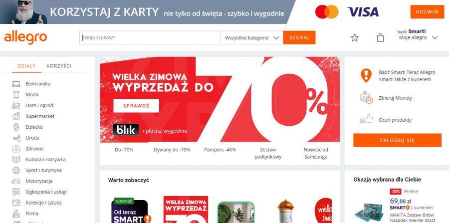 Zmiany W Allegro W 2020 Roku Co Czeka Sprzedawcow Sprzedaje W Necie Blog O Tematyce E Commerce I Handlu W Internecie